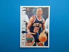 1995-96 Panini NBA Basketball Sticker N.199 Greg Anhony Vancouver Grizzlies