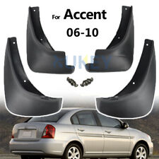FIT FOR HYUNDAI ACCENT GLS SALOON 06~10 MUD FLAP FLAPS SPLASH GUARD MUDGUARDS