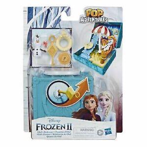 Disney Frozen 2 Pop Adventures Portable Pop-up Olaf's Bedroom Playset with Olaf