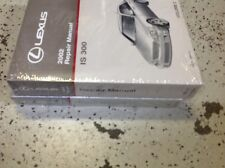 2002 LEXUS IS300 IS 300 Service Workshop Shop Repair Manual SET FACTORY