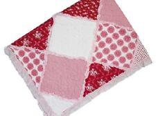 Scarlet Patch Cot Quilt/Coverlet