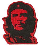 Patch Ecusson écusson brodé patche Che Guevara thermocollant adhésif rouge