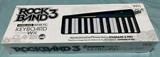 Wii Rock Band 3 Wireless Keyboard Controller Clavier keys Mad Catz *Brand new*