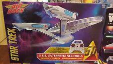 Air Hogs Star Trek USS Enterprise Drone RC Drone 4ch 2.4GHZ - Ships Free!