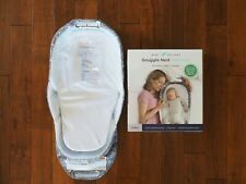 Baby Delight Snuggle Nest Harmony Portable Infant Sleeper Grey Elephant New