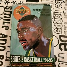 1994-95 COLLECTORS CHOICE BASKETBALL CARD PACK POSSIBLE MICHAEL JORDAN INSERTS