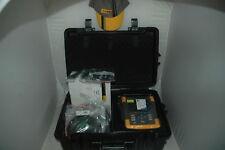 Fluke 437II 438II 400Hz complete - Motoranalyzer GPS 32GB Memory 5000mAh battery