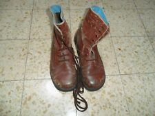 cfee1d299c5f3 THE REAL Israeli Army Para Red Brown LIGHT Boots. Idf Zahal MADE IN ISRAEL  BRILL