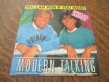 45 tours MODERN TALKING you can win if you want