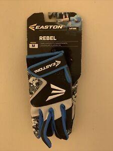 Easton Rebel VRS Batting Gloves Youth Medium