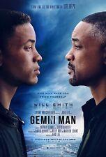 Gemini Man Movie Poster (24x36) - Will Smith, Mary Winstead, Clive Owen v1