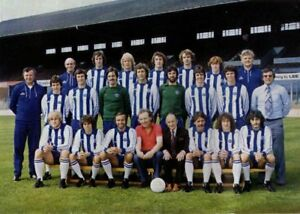 Large collection of Brighton & Hove Albion photo postcards