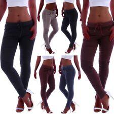 BY ALINA Damenhose Hose Röhrenhose schwarz Hüfthose Stoffhose skinny 34-38 #765