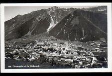 CHAMONIX (74) LE BREVENT en vue aérienne période 1920-1930