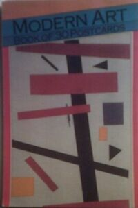 Modern Art Postcard book or pack Book The Cheap Fast Free Post