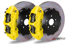 Brembo Front GT BBK Brake 6 Pot Yellow 405x34 Slot Disc LX570 Land Crusier 16+