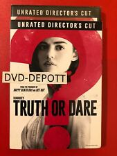 TRUTH OR DARE DVD & Slipcover  **AUTHENTIC ITEM read** Brand New Free Shipping