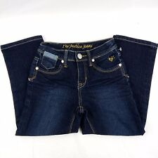 Justice Jeans Girls Size 10S Cotton Blue Denim Bottoms
