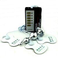 NEW Electric Estim Plug Electric-Shock Breast Nipple patch Body Enhancer Health
