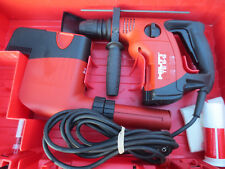 HILTI TE 6-S PREOWNED, FREE BITS W/ DRS DUST COLLECTOR looks near perfect