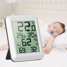 Digital LCD Thermometer Hygrometer Temperature Meter MIN/MAX Weather Station