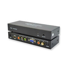 New HDMI to RGB Component YPbPr / VGA Converter Supports up to UXGA and 1080p