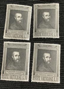 1964 Vatican Stamps. Michelangelo mnh