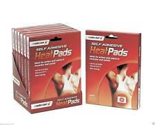 2 X Pad Self Adhesive Heat Pads Pack Muscle Back Joint Pains Relief Instant