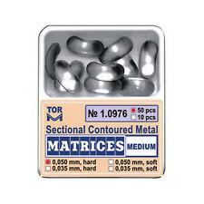 Dental Medium Sectional Contoured Matrices Matrix 50 pcs./pack TOR VM