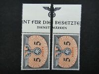 Germany Nazi 1940 Stamps MNH Swastika Eagle 5z Generalgouvernement WWII Third Re