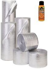 Car Insulation 100 Sqft Thermal Heat Sound Deadener Block Automotive + Adhesive