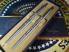 President Ronald Reagan VIP Pen & Pencil Set - White House - Presidential Seal