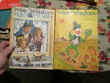 Lot of 2 Wee Wisdom Children's Magazine 1967 January 1968 March - LOTHIL