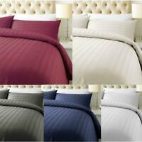 100% Duvet Cover Pillow Case Quilt Cover Bedding Set Single Double King All Size