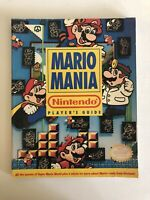 Mario Mania Super Nintendo SNES Strategy Guide Player's Hint Book