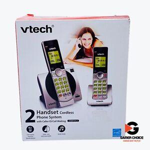 VTech 2 Handset Cordless Phone Caller ID / Call Waiting DECT 6.0 (CS69192)