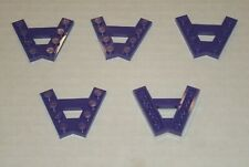 LEGO NEW Dark Purple Plate A-Frame 45° (5x) 6147010 Brick 15706