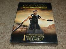 Gladiator (Extended Edition) 3-Disc Dvd Box Set Russell Crowe Brand New / Sealed
