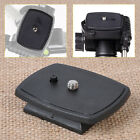 QR Quick Release Plate Screw Adapter Mount Tripod Head For Sony DSLR SLR Camera
