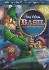 Dvd Disney BASIL La'DETECTIVE DEL RATÓN nuevo sellado 1986