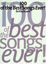 100 Best Songs For Keyboard Learn to Play FEVER Piano Guitar Music Book