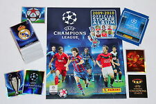 Panini CHAMPIONS LEAGUE 2009/2010 09/10 KOMPLETTSATZ COMPLETE SET + ALBUM MINT!
