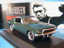 FORD MUSTANG GT BULLITT 1968 MC QUEEN YAT MING 1/43 SIGNATURE YATMING 43207