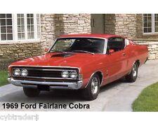 1969 Ford Fairlane Cobra  Refrigerator / Tool Box  Magnet