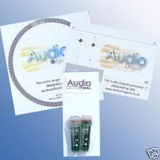 Audio Origami Turntable BEARING OIL, Alignment PROTRACTOR & STROBE KIT