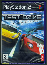 PS2 Test Drive Unlimited (2006) UK Pal French Boxtext, New & Sony Factory Sealed