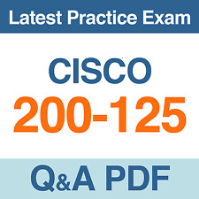 CCNA Cisco Certified Network Associate Practice Exam 200-125 Test Q&A PDF