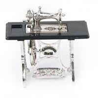 Dollhouse lega d'argento macchina per cucire in miniatura Z2I1