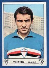 FIGURINE FOOTBALLEURS PANINI 1964/65 - RÉCUPÉRATION - VINCENZI - SAMPDORIA
