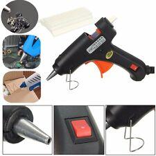 Hot Melt Glue Gun Tool Trigger Electric + 50 Adhesive Sticks For Hobby Craft DIY